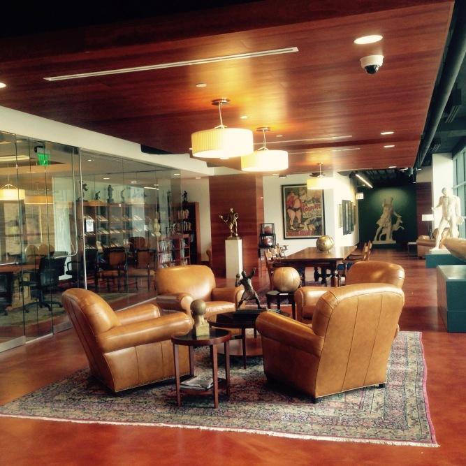 Stark Center Reading Room